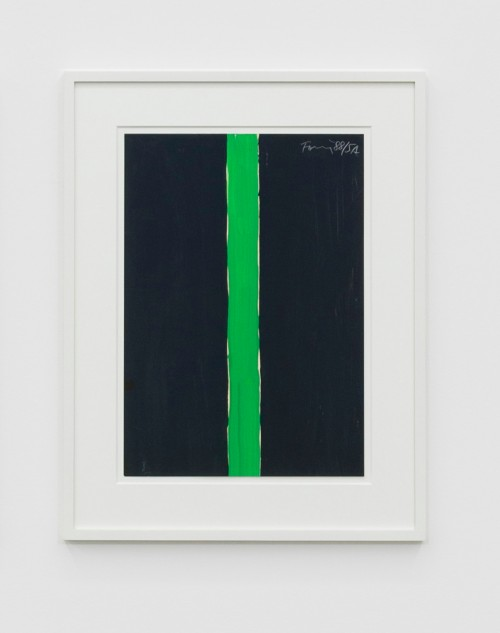 GÜNTHER FÖRG<br />»o.T.«, 1988<br />gouache on paper, 49,5 x 35 cm<br />