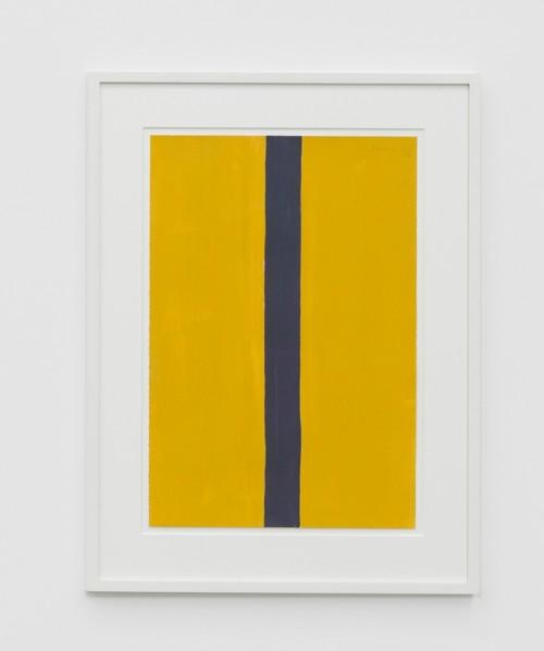 GÜNTHER FÖRG<br />»o.T.«, 1988<br />gouache on paper, 56 x 38 cm<br />