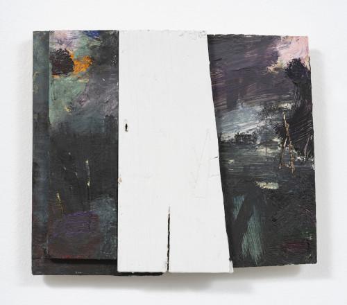 <i>Chris</i>, 2020<br />Oil paint on panel, 18 x 20 cm (7 x 7 3/4 in)<br />