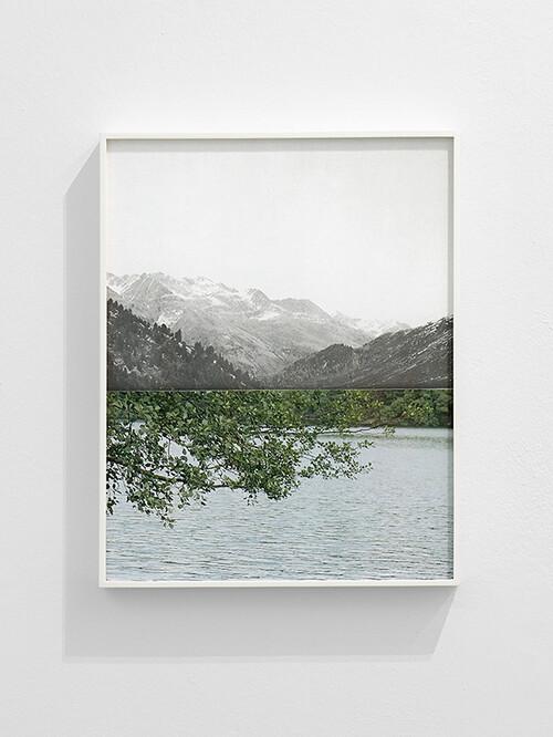 <i>Nothing</i>, 2019<br />Pigment print, framed, 50 x 39 cm<br />Edition 2/4 + 2 AP