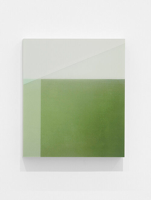 <i>entsprechend</i>, 2019<br />Pigment print mounted on wood, plexi glass, 65 x 56 cm<br />Edition 2/4 + 2 AP