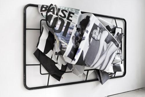 »Baise moi«, 2019<br />alternate view, 190 x 300 x 59 cm<br />
