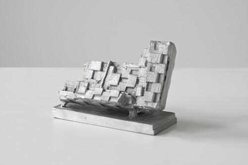 <i>Berliner Kindheit (edition) 1/5</i>, 2020<br />cast aluminium, 13 x 20 x 9 cm<br />