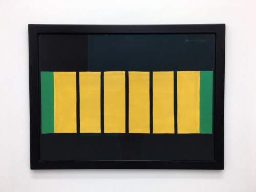 GÜNTHER FÖRG<br />»o.T.«, 2001<br />gouache on paper, 59 x 78 x 2 cm (framed)<br />