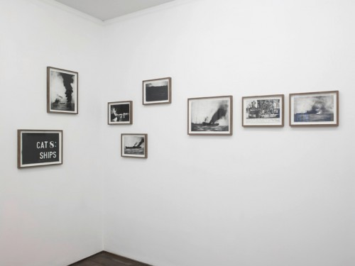 MARCEL VON EDEN<br />»Untitled (Cat 8: Ships)«, 2011<br />suite of 8 drawings, Nero pencil on hand made paper, dimensions variable<br />