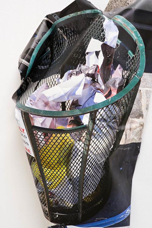 <i>trash can</i>, 2016<br />detail<br />