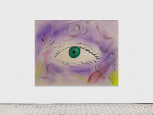 <i>Im Augenblick (2)</i>, 2019<br />acrylic on canvas, 180 x 230 cm<br />