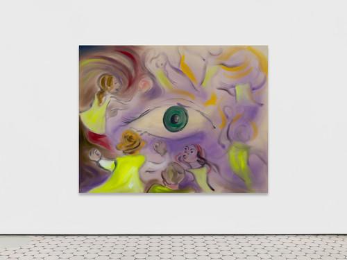 <i>Im Augenblick (1)</i>, 2019<br />acrylic on canvas, 180 x 230 cm<br />