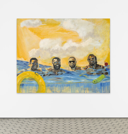 JERRELL GIBBS<br /><i>Day today</i>, 2020<br />oil on linen, 121 x 151 cm<br />