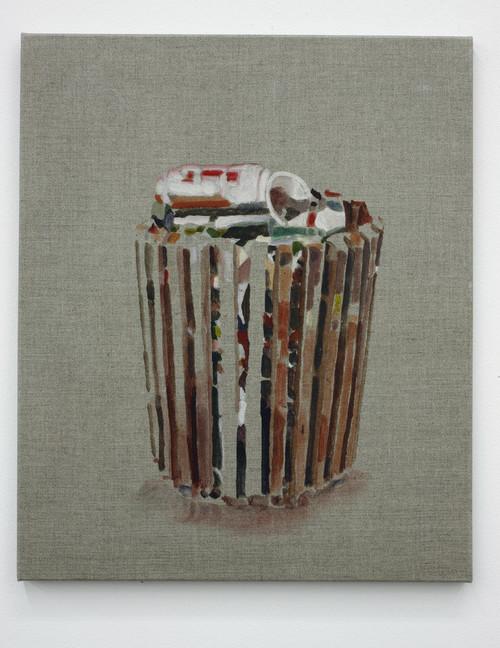 <i>full trash</i>, 2010<br />watercolour, 60 x 50 cm<br />
