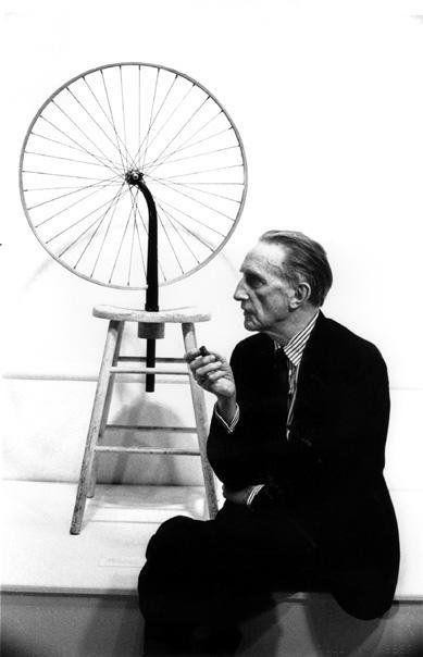 »Duchamp Fahrrad«, 1963/2012<br />glycee print, 34 x 48 cm<br />