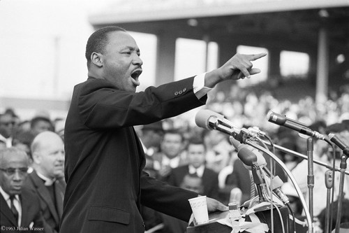 <i>Martin Luther King</i>, 1962/2012<br />glycee print, 34 x 48 cm<br />