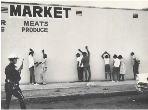 »Market«, 1966/2012<br />glycee print, 34 x 48 cm<br />