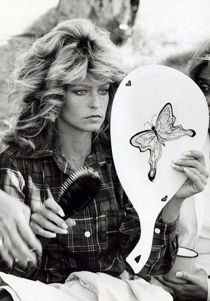 »Farrah Fawcett on set of Charlies Angeles TV series 20th C Fox«, 1974/2012<br />glycee print, 34 x 48 cm<br />