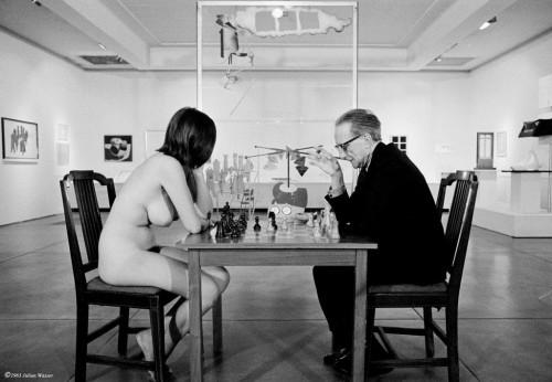 »Duchamp chess«, 1963/2012<br />glycee print, 34 x 48 cm<br />