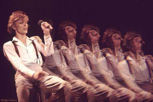 <i>David Bowie in Hollywood</i>, 1974/2012<br />glycee print, 34 x 48 cm<br />