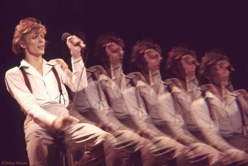 »David Bowie in Hollywood«, 1974/2012<br />glycee print, 34 x 48 cm<br />