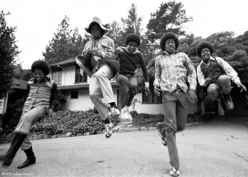 »The Jackson Five at home«, 1974/2012<br />glycee print, 34 x 48 cm<br />