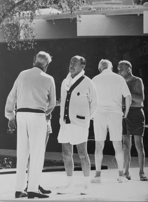 <i>Jack Warner in Palm Springs</i>, 1961<br />vintage photo, 25 x 19 cm<br />