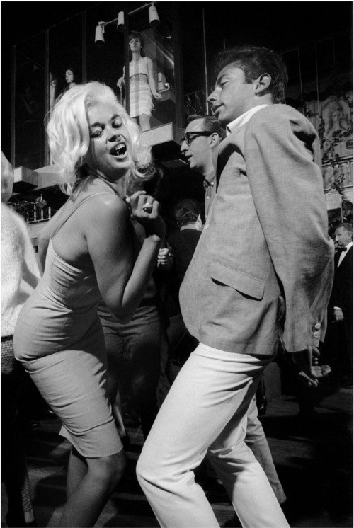 <i>Jane Mansfield and date, Whiskey a Gogo</i>, 1964/2012<br />glycee print, 34 x 48 cm<br />