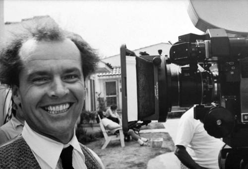 <i>Jack Nicholson on set</i>, 1975<br />vintage photo, 17 x 24 cm<br />