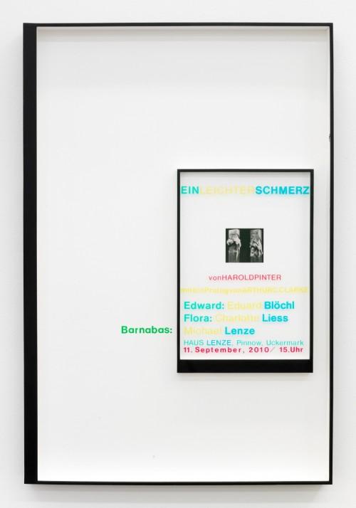 »Page 60 of MIRIAM & WILLIAM«, 2012<br />Mischtechnik, Collage, 103 x 69 cm<br />