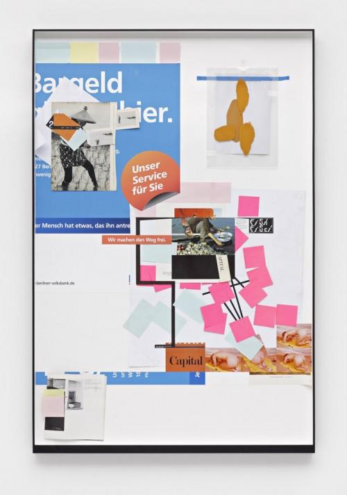 »Page 6 of MILK MIRIAM?«, 2010<br />paper collage, 154 x 103 cm<br />