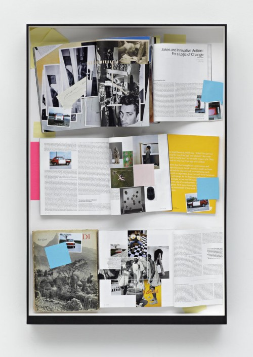 »n.n.«, 2008<br />paper collage, 103 x 69 cm<br />